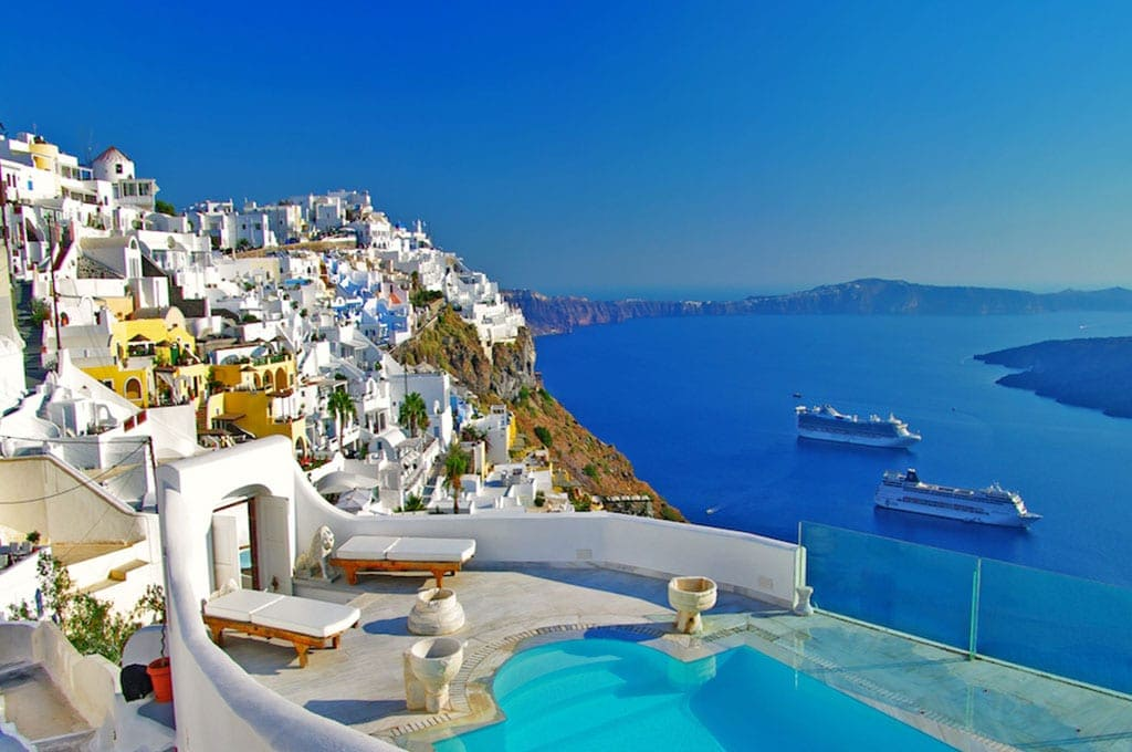 private-jet-charter-to-santorini-greece