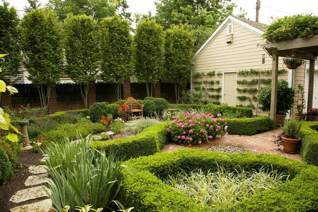 turn your own backyard into a garden you want to travel to