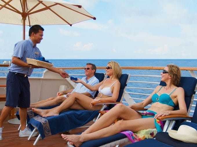 Of The Most Interesting Cruise Ship Workers Secrets Worldation - Cruise ship deck officer salary