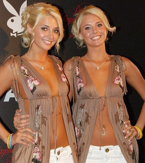 playboy shannon Kristina karissa and twins