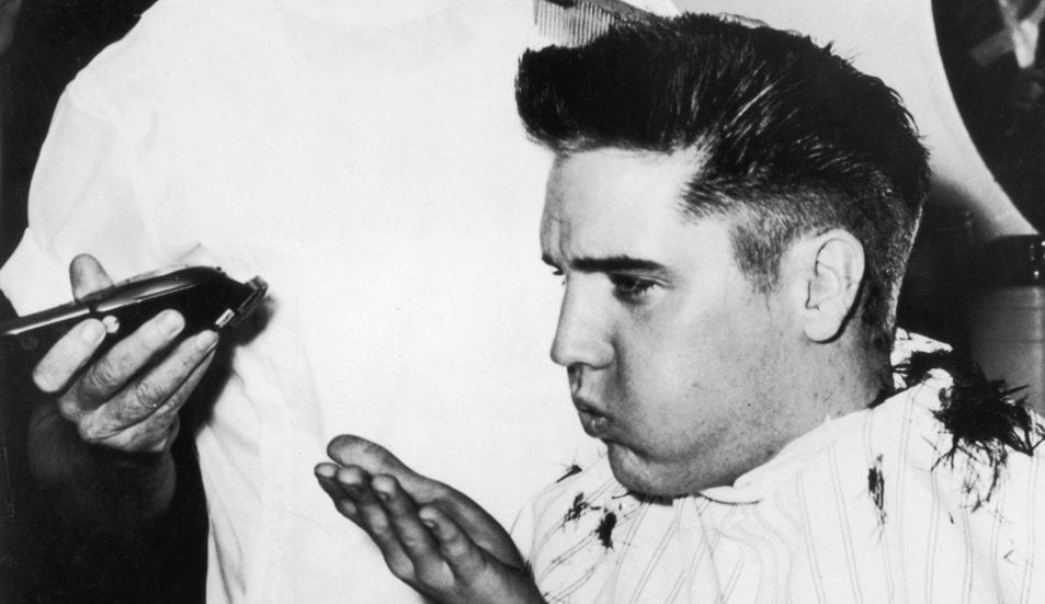 To Touch The Singers Hair And He Was Even Flown Out Cut Elvis While On Tour Kept Some Of Sold It After Death