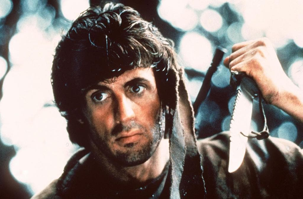 Rambo 1 Elicottero : Sylvester stallone s journey to fame worldation