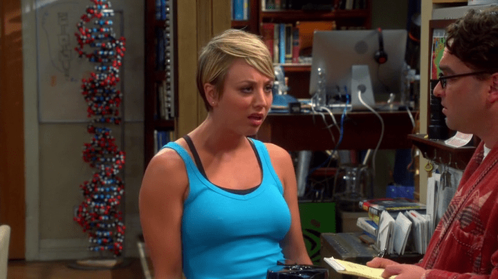 penny from the big bang theory