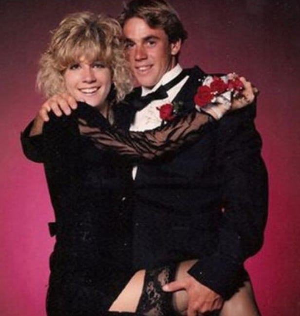Awkward prom photos celebrity couples