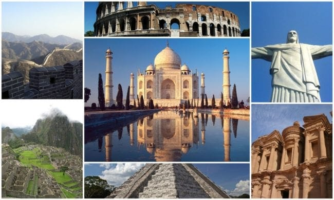 How are the 7 wonders of the world decided? | Worldation