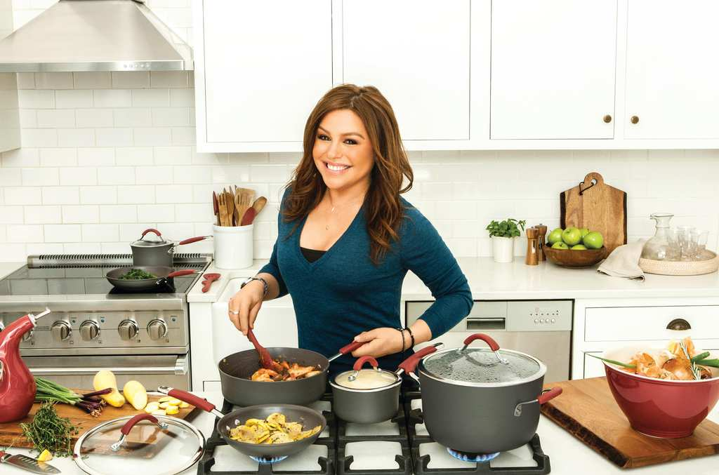 Check out our selection of Rachael Ray cookware, kitchen tools, and cookbooks designed to help make your time in the kitchen a little easier and a lot more fun. Learn to cook ''the Rachael Ray way,'' and be guided by her warmth, energy, and can-do spirit.