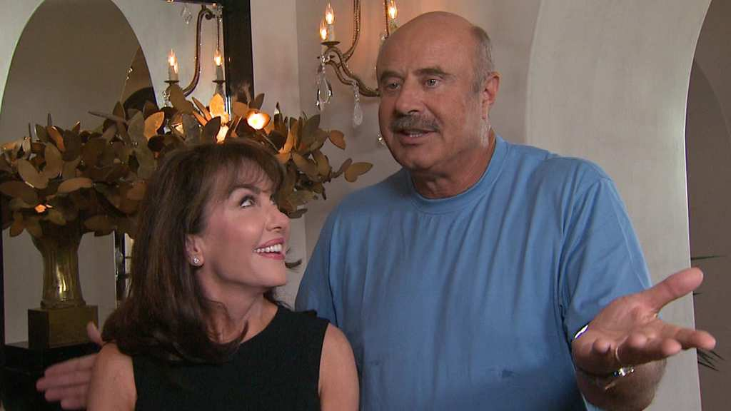 After 40 years, Dr  Phil's wife gets a big surprise on his show