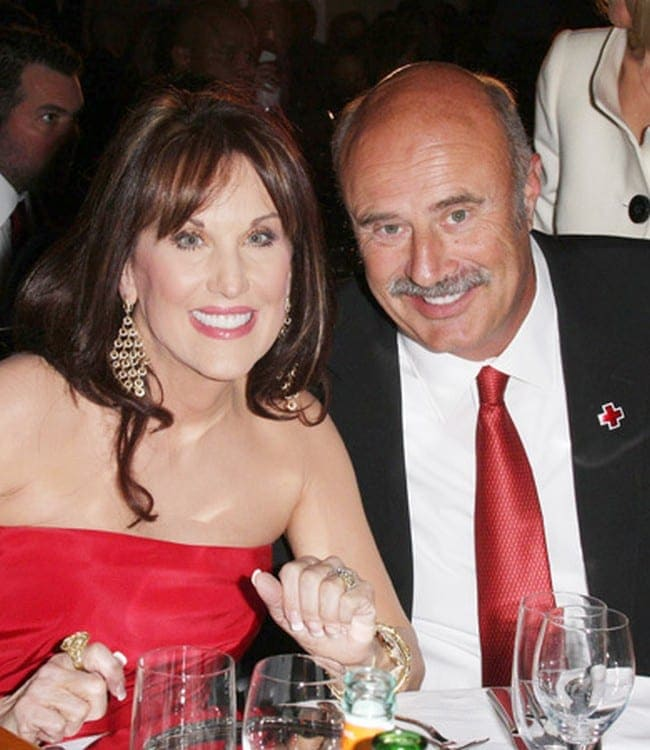 After 40 years, Dr  Phil's wife gets a big surprise on his