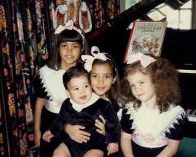 Image result for khloe k childhood