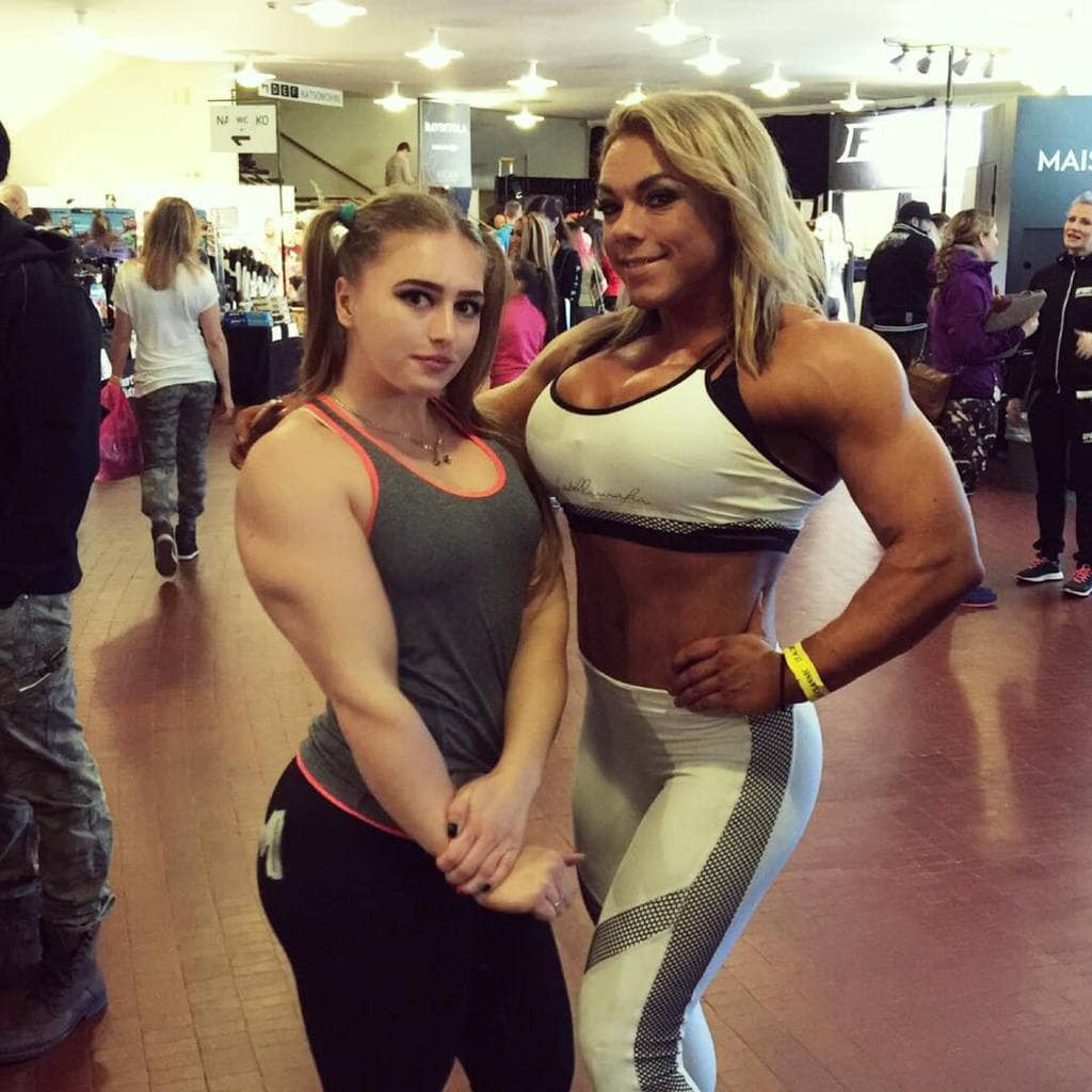300f44d3f2 Meet the  Muscle Barbie  bodybuilder with a doll-like face