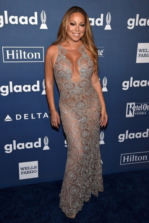 b61276bc2d1 Mariah certainly is one to showcase some unforgettable looks on the red  carpet