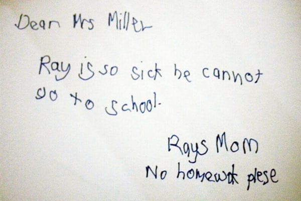 Most hilarious and ridiculous absence notes ever | Worldation