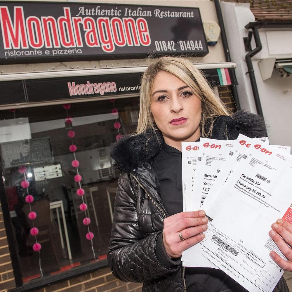 Restaurant owner gets high electric bill, learns she's been paying