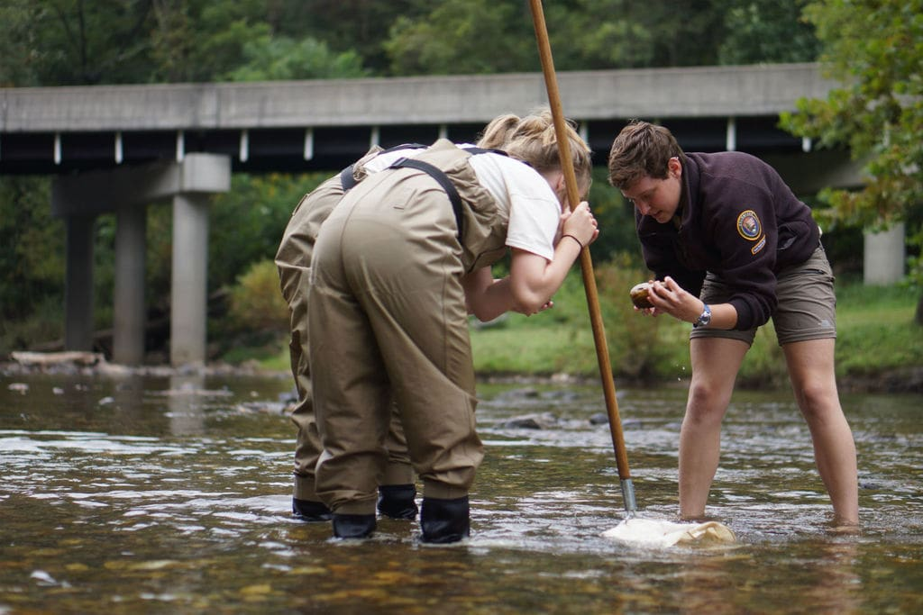 National Park Service volunteering